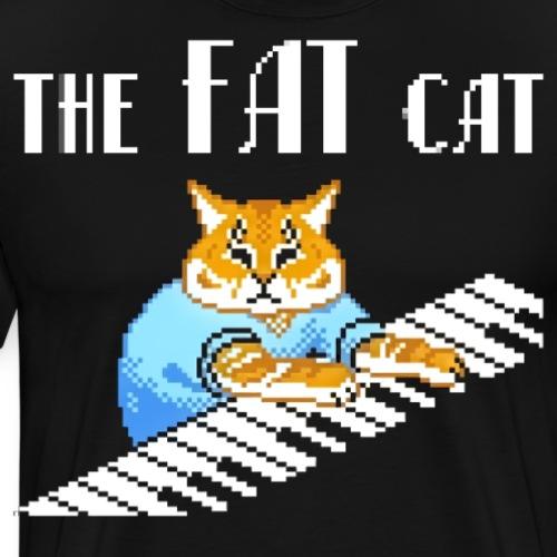 The Fat Cat - Men's Premium T-Shirt