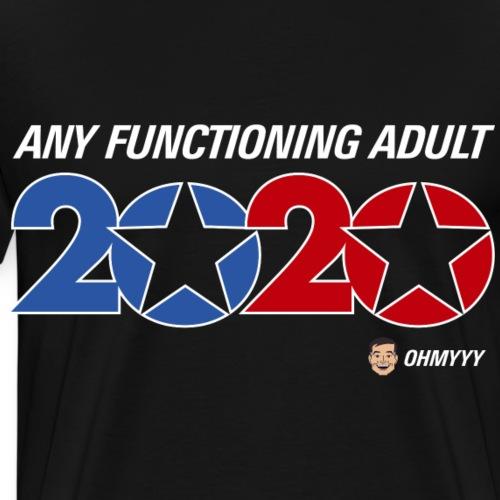 ohmyyy 2020 black or gray shirt - Men's Premium T-Shirt