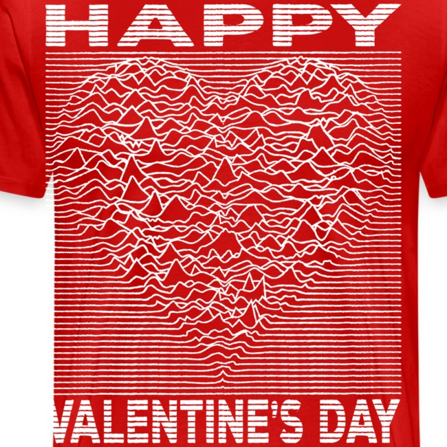 Love Lines Happy Valentines Day Heart