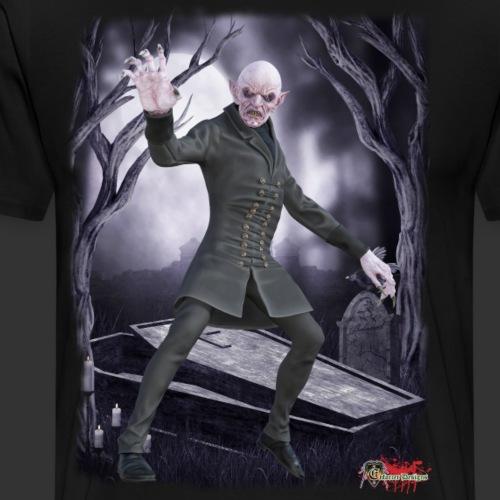Classic Monsters: Nosferatu Rising - Men's Premium T-Shirt
