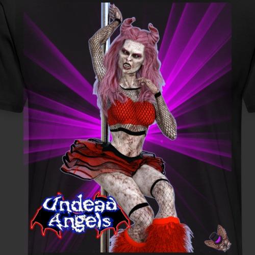 Undead Angels: Undead Dancer Ruby Spotlight - Men's Premium T-Shirt