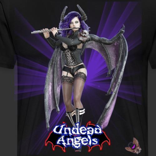 Undead Angels: Succubus Flute Player Spotlight - Men's Premium T-Shirt