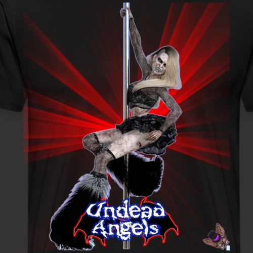 Undead Angels: Undead Dancer Onyx Spotlight - Men's Premium T-Shirt