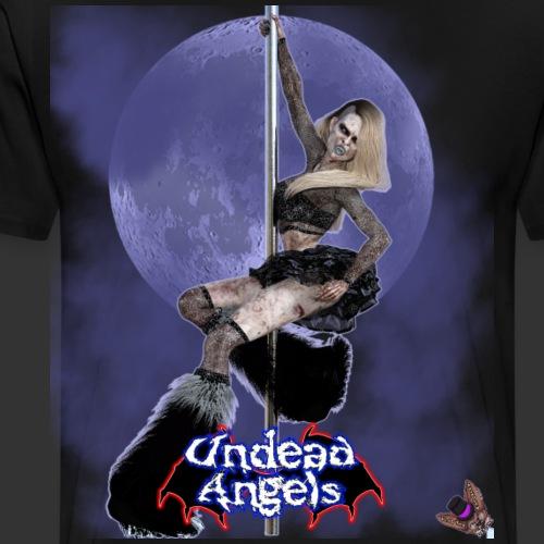 Undead Angels: Undead Dancer Onyx Full Moon - Men's Premium T-Shirt