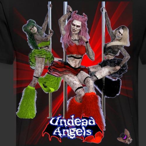 Undead Angels: Pole Dance Trio Spotlight - Men's Premium T-Shirt