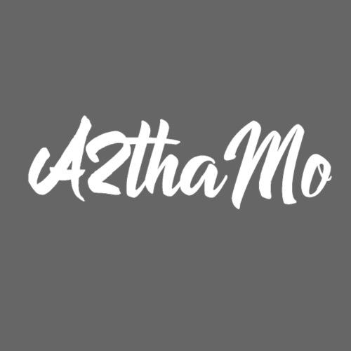 A2thaMo Logo White - Men's Premium T-Shirt