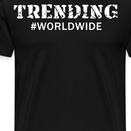 Trending Worldwide Funny Cool T Shirt - Men's Premium T-Shirt