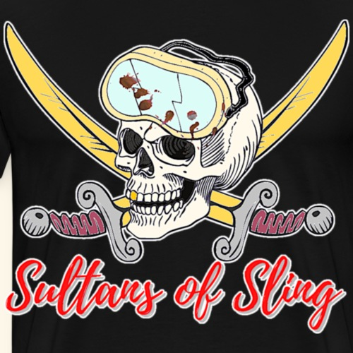 Sultans Skully Logo - Men's Premium T-Shirt
