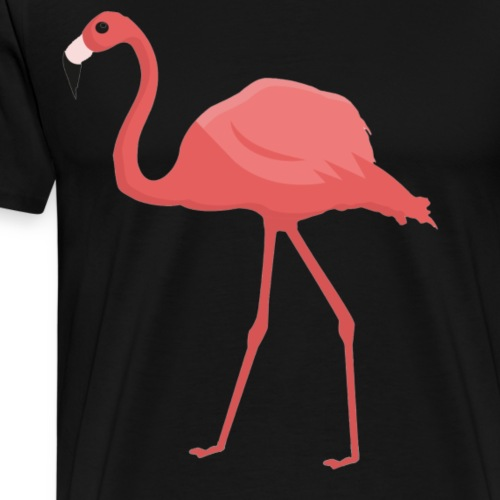 Flamingo Cool Trending T Shirt - Men's Premium T-Shirt