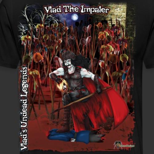 Vlad The Impaler Full BG - Men's Premium T-Shirt