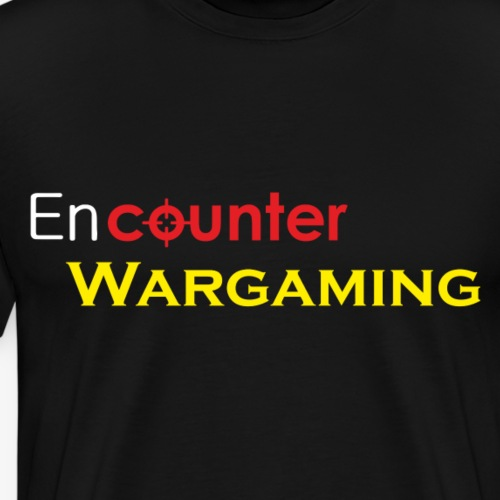 Classic Encounter Wargaming Logo - Men's Premium T-Shirt
