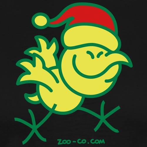 Merry Christmas Chicken - Men's Premium T-Shirt