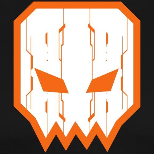 Animattronic Square Skull Tech - Men's Premium T-Shirt