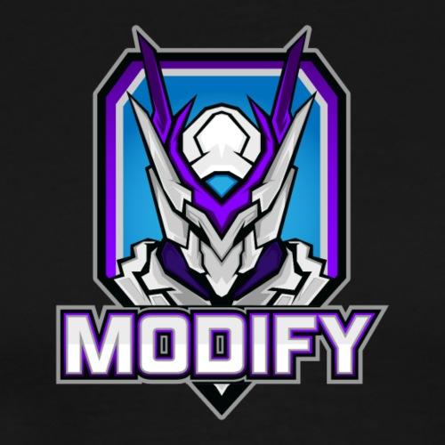 Modify Text Logo - Men's Premium T-Shirt