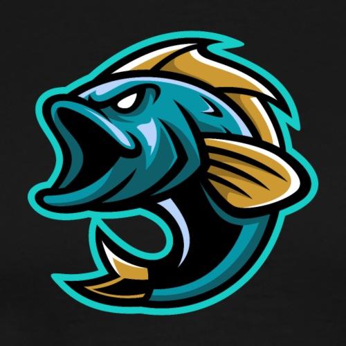 PogFish Logo Only - Men's Premium T-Shirt