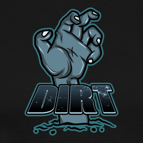 DIRT Text Logo - Men's Premium T-Shirt