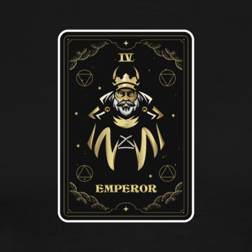 Arcana Emperor Text Logo - Men's Premium T-Shirt