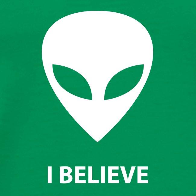 I BELIEVE ALIEN