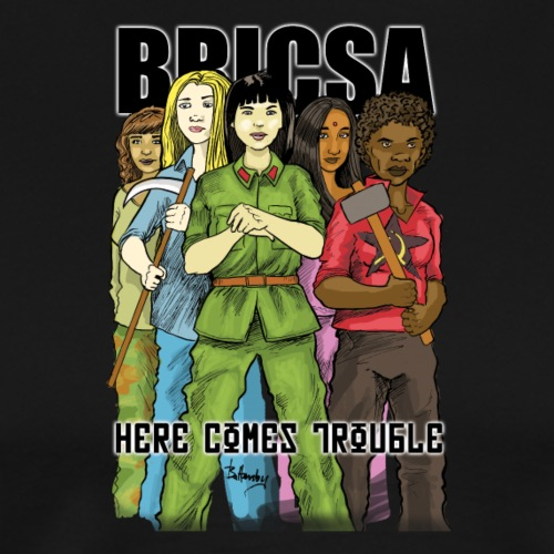 BRICSA GIRLS - Men's Premium T-Shirt