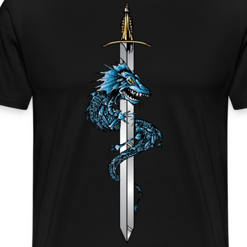 Dragon Sword - Men's Premium T-Shirt