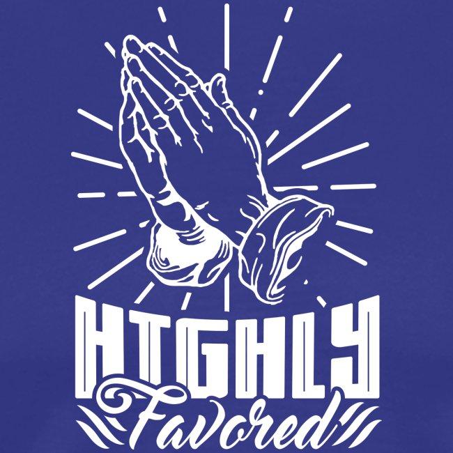 Highly Favored - Alt. Design (White Letters)