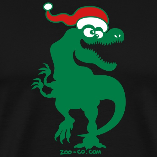 Christmas Tyrannosaurus Rex - Men's Premium T-Shirt