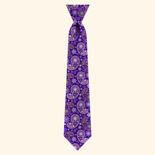 Paisley Krawatte Tie Tieknot Office Büro Style - Men's Premium T-Shirt