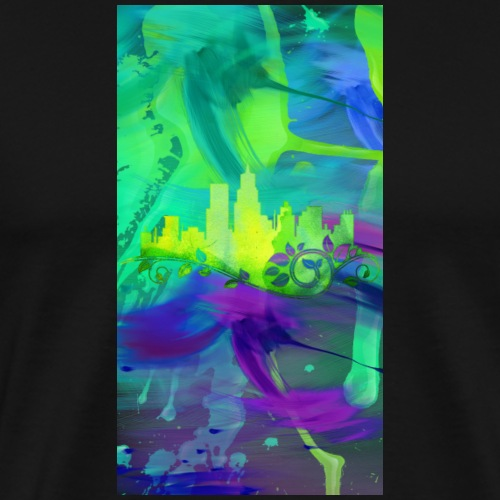 City Of Green Design 01 - Men's Premium T-Shirt