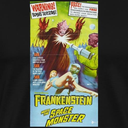Frankenstein Meets the Space Monster - Men's Premium T-Shirt