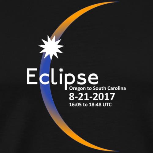 Eclipse 2017 Commemorative Insignia - Men's Premium T-Shirt