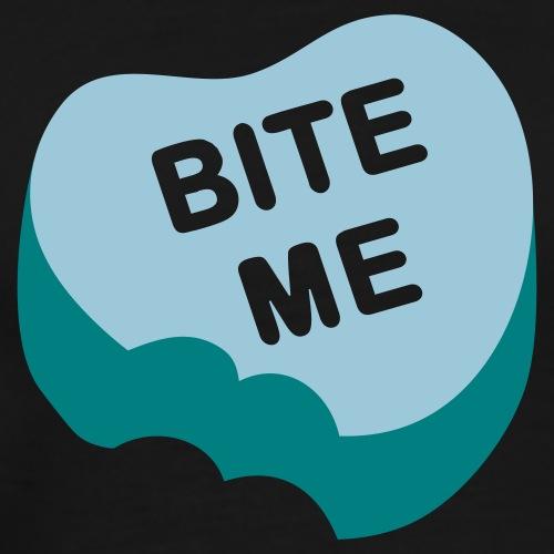 Bite Me Candy Heart - Men's Premium T-Shirt