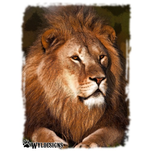 Regal Lion - Men's Premium T-Shirt