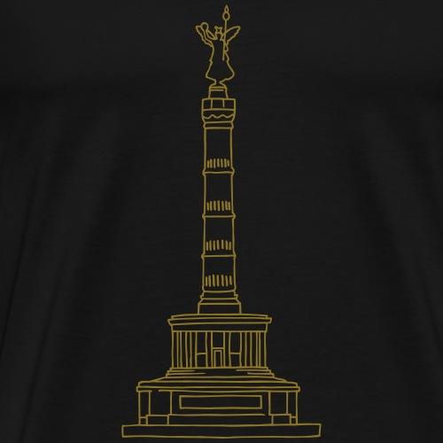 Berlin Victory Column - Men's Premium T-Shirt