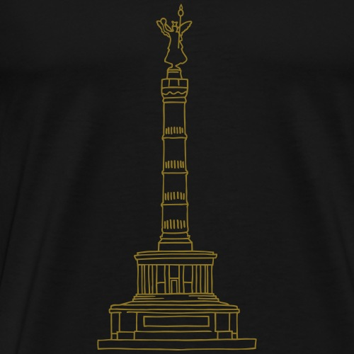 Berlin Victory Column - Men's Premium T-Shirt
