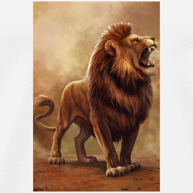 Lion power roar