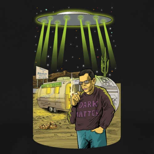 Art Bell Coast to Coast UFO Sighting - Men's Premium T-Shirt