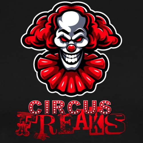 Circus Freaks Text Logo - Men's Premium T-Shirt