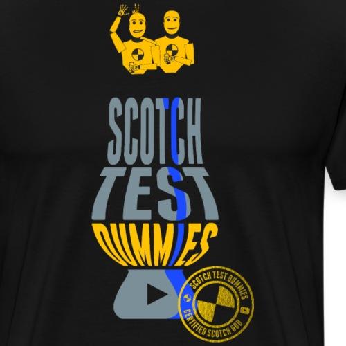 Scotch Test Dummies Glencairn Glass Logo - Men's Premium T-Shirt