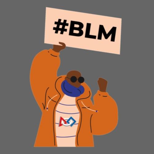 #BLM FIRST Man Petitioner - Men's Premium T-Shirt