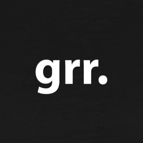 grr. - Men's Premium T-Shirt