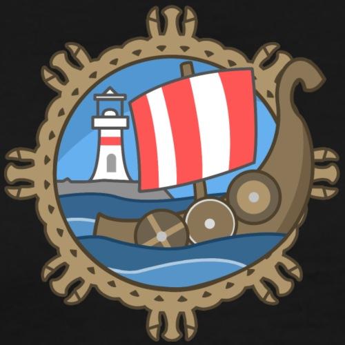 Portland Fyrd Logo ( Small No Text) - Men's Premium T-Shirt