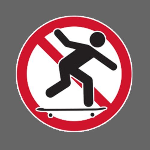 NO Skating - Men's Premium T-Shirt