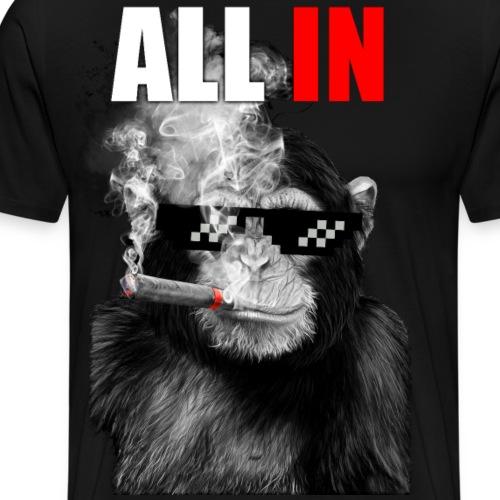 Ape All In - Men's Premium T-Shirt