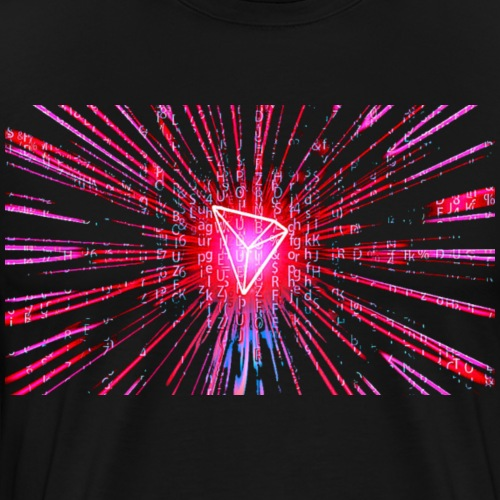 Tron Burst - Men's Premium T-Shirt