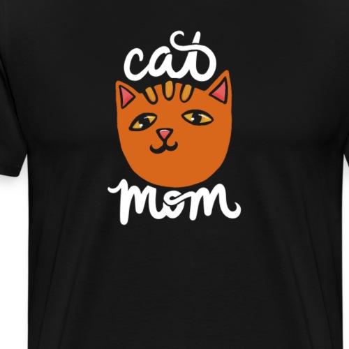 Cat Mom - Men's Premium T-Shirt