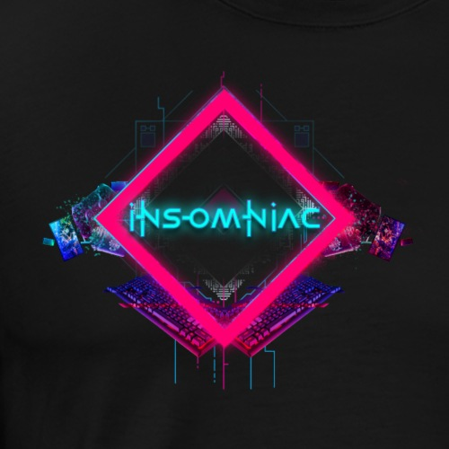 Insomniac - Men's Premium T-Shirt
