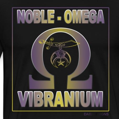 Noble Que VIBRANIUM TEE v2 - Men's Premium T-Shirt