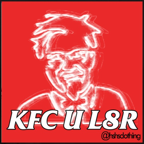 KFC U L8R - Men's Premium T-Shirt