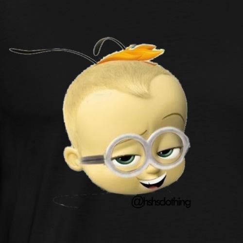 EMOJIBOSSMINIONBEE HEAD - Men's Premium T-Shirt