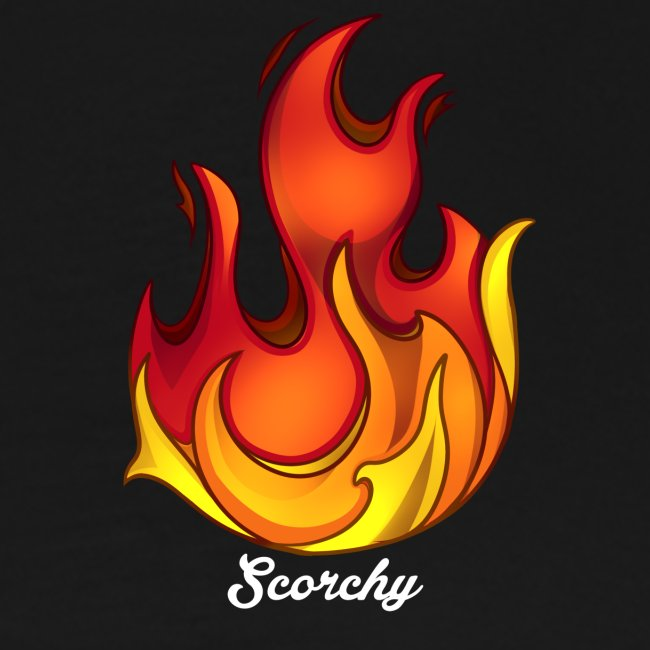 Scorchy White Logo